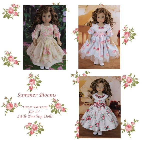 PDF Smocked Dress and Dress Pattern 13