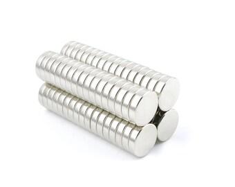 "Neodymium Magnets N35 12x3mm Disc (15/32"" x 1/8"") Magneten Supermagnet Aimant Permanent Magnet Magnete Neodym Crafting Super Strong Fridge"