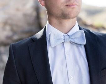 Bow Tie, Baby Blue Men's Bow Tie