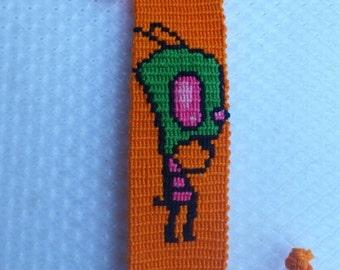 ON SALE Invader Zim friendship bracelet.
