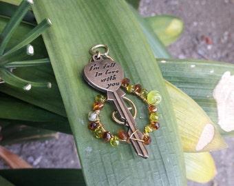 Green Love Key