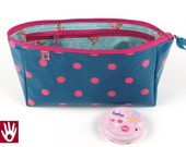 toiletries bag for children / bag for first-aid equipment / oilcloth inside and outside
