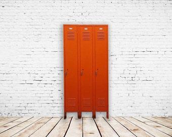 Vintage Manadarin Storage Lockers