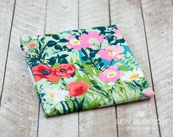 Mother's Garden Rich Modern Quilting Fabric - Art Gallery Fabrics - Floral Print - Lavish Collection
