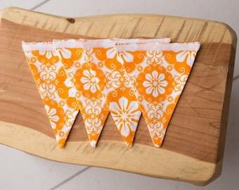 Orange Sherbert Detachable Banner Set for Customizable Flag Banner {4 Flags Only}