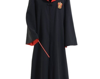 Harry Potter Gryffindor of Hogwarts Robe Cosplay Costume