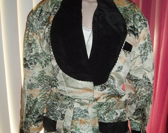 Asian short jacket
