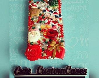 Iphone 5/5s Christmas theme case