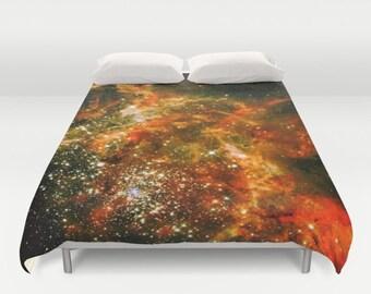 galaxy duvet etsy. Black Bedroom Furniture Sets. Home Design Ideas