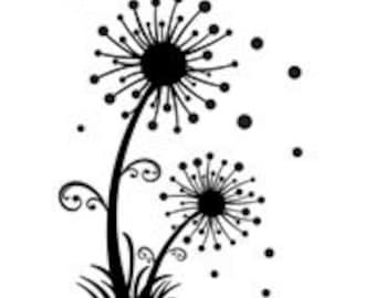 Dandelion Embossing Folder by Darice, Spring Dandelion Embossing Folder