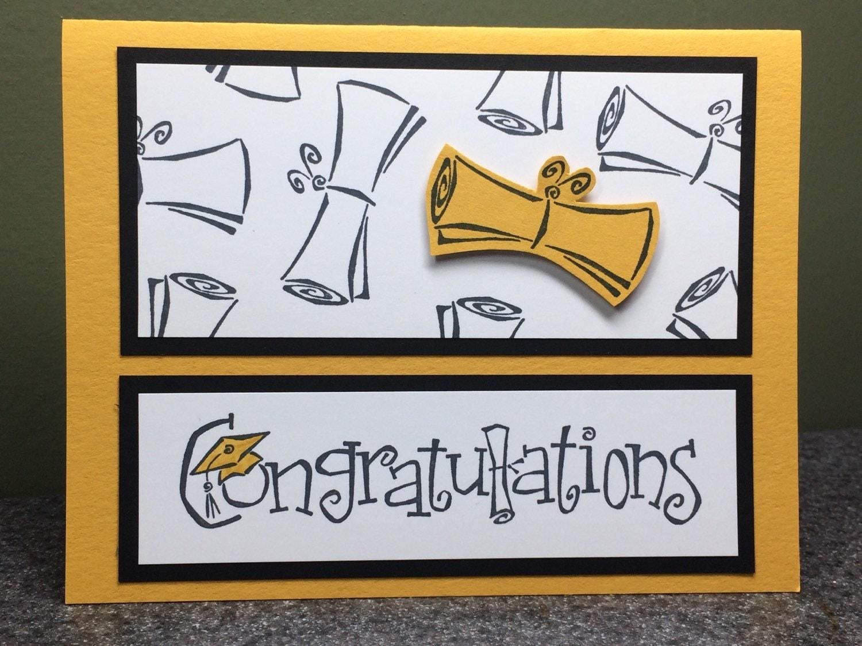 graduation card stampin up card handmade card graduation
