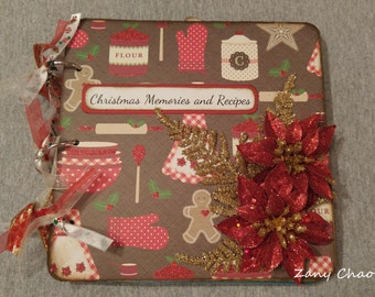Christmas Memories and Recipe Mini Album