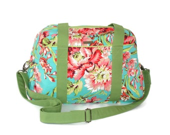 Diaper Bag, Nappy Bag, Girl Diaper Bag, Amy Butler Diaper Bag, Diaper Bag for Twins, Love Bliss Bouquet Diaper Bag, Diaper Bags for Girls
