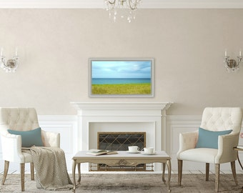 Windswept ~ Charlestown, Rhode Island, Beach, Coastal Decor, Nautical, Beach Photography, Joules, Wall Art, Interior Decor, Home Decor, Art