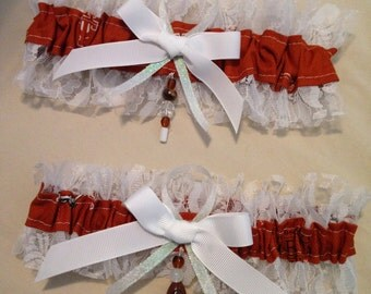 "Texas ""Longhorns"" Garters"