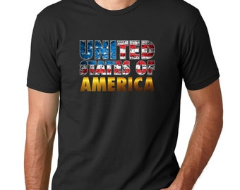 USA United States of America 4th of July Tee Shirt Independence Day Patriot