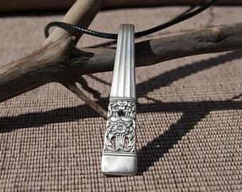 Silverware Handle Necklace - NL013