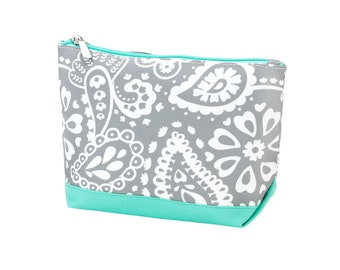 Cosmetic Bag - Make up bag - monogram bag - personalized make up bag - monogram cosmetic bag