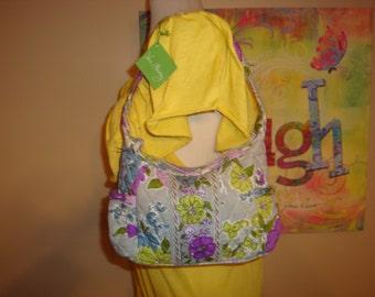 NEW Vera Bradley Watercolor Sophie Shoulder Bag