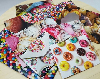12 - Sweets and Treats Envelopes -- OR Custome Envelopes