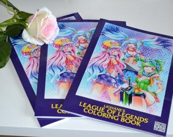 League of Legends Coloring Book
