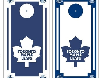 Toronto Maple Leafs Cornhole set