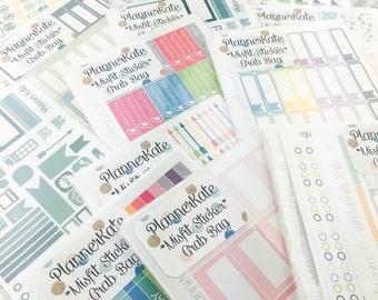 SALE!!!!!!  MISFIT & REFORMAT Sticker Grab Bag (Removable Matte Stickers)
