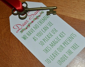 Magic Santa Key - No Chimney, Kids Gift