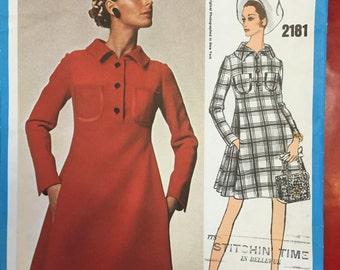 Pattern Vogue Americana James Galanos #2181 SZ 10