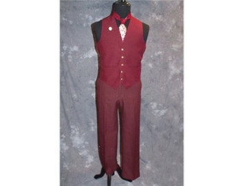 Ron Burgundy Costume with Accessories/ Anchorman / 1970's / News Team 4 / Will Ferrell Costume-Small-Medium (A103)