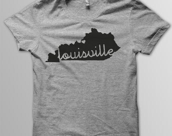 Custom KENTUCKY Hometown American Apparel Tri blend Tshirt