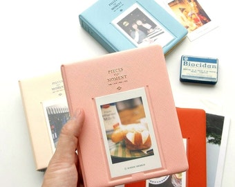 65 Sleeves Instax Mini Albums Photo Holders for Fujifilm Instax Mini Films