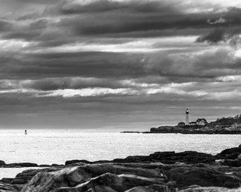 Storm Clouds Over Portland Head Light