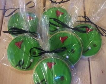 Golf Themed Sugar Cookies - 1 dozen