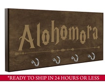 Brown   Alohomora Key Holder   Harry Potter Key Holder   Wall Key Holder   Key Rack   Decorative Key Hook   Home Decor