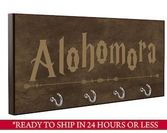 Brown | Alohomora Key Holder | Harry Potter Key Holder | Wall Key Holder | Key Rack | Decorative Key Hook | Home Decor