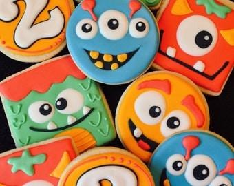 Monster Cookies, Little Monsters Birthday, Monster Bash Birthday, Monster Theme