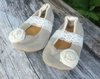 baby shoes, baby girl shoes, baby mary janes, up cycled baby shoes