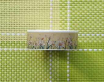 10m Chrysanthemum Washi Tape 15mm x 10m