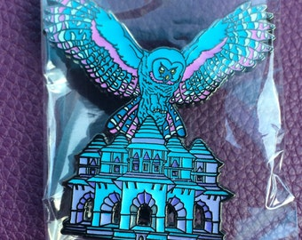 Lotus Owl pin LE75