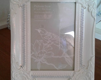 Beautiful Shabby Chic Picture Frame
