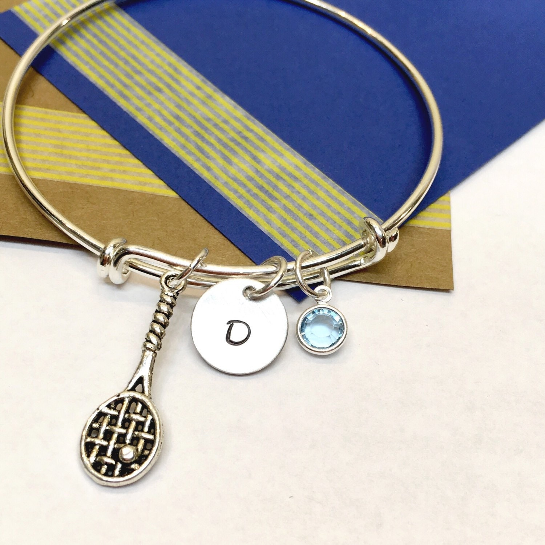 Tennis Charm Bracelet