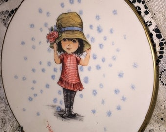 Gorham Fine China Presents: Moppets Plate, Second of a Limited Edition Mothers Day Plate 1974; Gorham Moppet Plate; Mothers Day 1974
