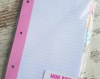 """Target mini binder refills """"simple"""""""