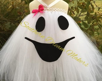 Ghost tutu, Halloween Tutu, Halloween Outfit,