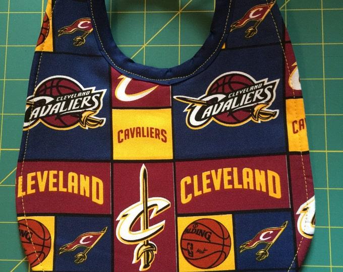 Baby Bib Cleveland Cavaliers Print Fabric