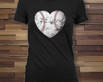 Baseball heart - summer shirt, baseball fan, baseball t-shirt, summer sport shirt, baseball league, baseball jersey, mens clothing - CT-743