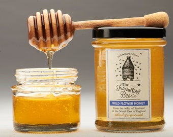 Wild Flower Honey, Raw and Unprocessed (2 Jars)