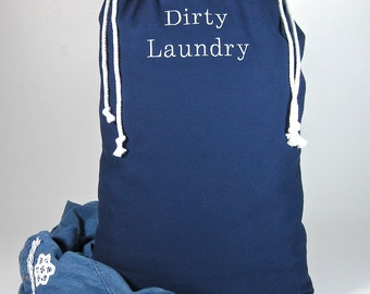 Embroidered Laundry Bag - FREE SHIPPING