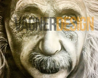 "A limited edition numbered print - ""EINSTEIN"""